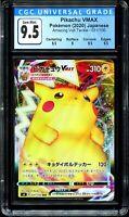 CGC 9 Pikachu Vmax Amazing Volt Tackle 031/100 Japanese Pokemon Card PSA BGS