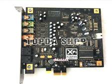 1PC Innovation X-Fi Titanium SB0880 PCI-E sound card 7.1 fiber sound card #XH