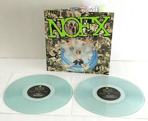 NOFX the greatest songs ever written DOUBLE Lp COKE BOTTLE CLEAR Vinyl Record