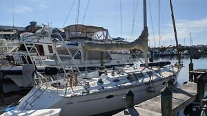 45' Hunter Marlow Sailboat - Blue Water Proven- Excellent condition-  USCG  REG