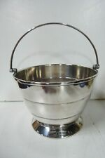 SILCRAFT SILVER PLATED ART DECO ICE BUCKET