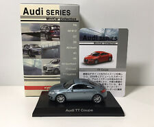 Kyosho 1/64 Scale Audi TT Coupe Diecast Minicar Model Light Blue/grey