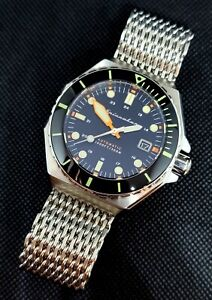 Spinnaker Dumas Nightfall Black Men's Automatic Watch