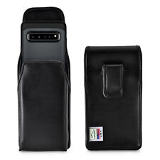Samsung Galaxy S10 5G Vertical Belt Holster Case Leather Pouch with Clip
