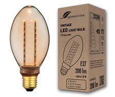 greenandco Vintage LED Lampe Stimmungsbeleuchtung B75 4W 200lm 1800K warmweiß