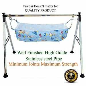 Premium ghodiyu indian style folding cradle free hanging and baby burp cloth