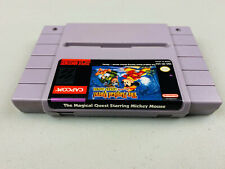 The Magical Quest Starring Mickey Mouse Super Nintendo SNES Genuine Authentic #2