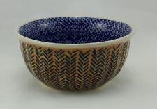 Bunzlauer Keramik Schale MISKA-F, Müsli, Schüssel, (M083-KZ10), D.Koziara, ø14cm