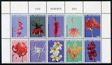 St. Maarten 2015 Blumen Blüten Flowers Blossoms Pflanzen Plants MNH