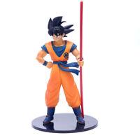 Dragon Ball Z Statue Son Goku Power Pole Japanese Anime Figure Toy Gift w/box