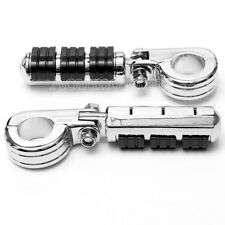 """Motorcycle Highway Footpegs Clamps 1.25"""" Foot Pegs For Harley Davidson Touring"""