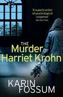 KARIN FOSSUM __ THE MURDER OF HARRIET KROHN ___ BRAND NEW __ FREEPOST UK