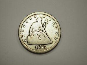 1875  s Twenty Cent Piece (20 Cent) # 799