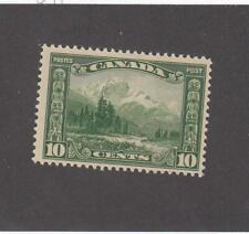CANADA (MK6967) # 155 VF-MLH 10cts 1928 MOUNT HURD, BC. /GREEN-#4  CAT VALUE $30
