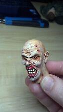 custom painted walking dead zombie head version 7 for 12 inch body