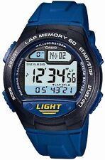 100% Authentic! CASIO SPORTS GEAR W-734J-2AJF Blue Men's Watch 10BAR New Japan