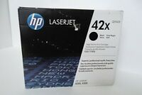 HP 42X Black Toner Cartridge 20K High Yield LaserJet 4240 4250 4350 Q5942X NEW