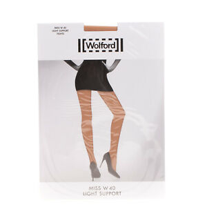 WOLFORD Miss W 40 DENLight Support Tights Size XL AW 2020/21
