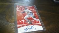 1997 DONRUSS SIGNATURE SERIES KEVIN YOUNG  AUTOGRAPHED BASEBALL CARD