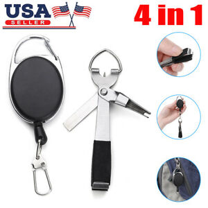 Fishing Quick Knot Fast Tie Nail Knotter Line Cutter Clipper Hook Device Storage