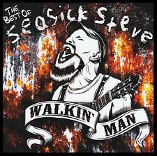 SEASICK STEVE - BEST OF : WALKIN' MAN CD ~ BLUES~STARTED OUT WITH NOTHIN + *NEW*