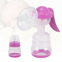 New Baby Manual Hand Breast Pump Mute Infant Breastfeeding Feeding Suction Tool