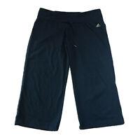 Adidas Climalite (Women's Size M) Cropped Capri Gray Yoga Pants