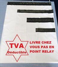 enveloppes sacs pochettes plastique envoi postal opaque blanches A5 A4 A3 A3++