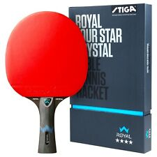 Stiga Royal 4-Star Table Tennis Racket Ping Pong Bat Paddle New Pro High Quality