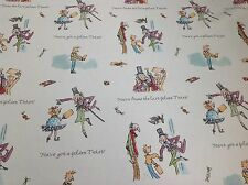 Ashley Wilde.Charlie and the Chocolate Factory GOLDEN TICKET Cotton Fabric