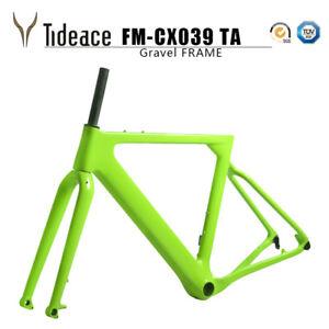 """T800 Carbon Gravel Frames OEM 700C*40 and 27.5er 2.1"""" Road Racing Bike Frame OEM"""