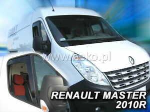 For Renault Master / Opel Movano  2010 ->  Wind deflectors  2.pc HEKO  27108