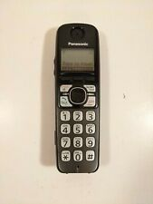 Panasonic KX-TGA470 B Handset ONLY Black w Batteries and TESTED