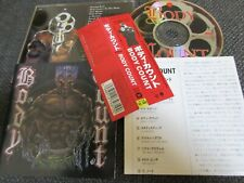 BODY COUNT / cop killer /JAPAN LTD CD OBI
