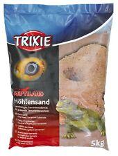 Trixie Cave Sand Terrarium Vivarium 5kg Lizard Snake Geko  Dark Red 76133