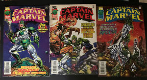 The Untold Legend Of Captain Marvel 1, 2, 3 April, May, & June 1997