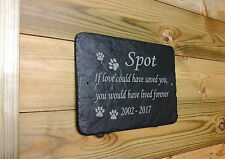 Pet memorial Grave Marker Keepsake - Hand Made to Order Add Message 1st 4 Signs