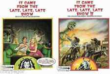 It Came From The Late Late Late Show I & II Role Playing in Bad Movies set *FS