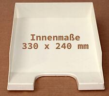 6 Stück Helit stabelbare Ablagefächer Ablagesystem Liegesammler für DIN A4