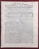 Club des Jacobins 1792 André Chénier Noyon Avignon Journal Révolution Française