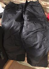 Columbia Mens Snow Pants Medium (Black)