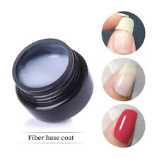 LILYCUTE 5ml Fiber Base Coat Soak Off UV Gel Glossy Repairing Broken