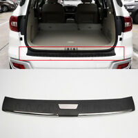 Plastic Outer Rear Bumper Protector Plate Cover For Toyota Fortuner 2016-2018