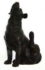 More details for labrador figurine bronze dog ornament sculptures