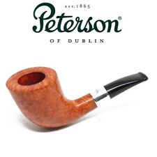 NEW Peterson Natural Outdoor Series D6 - Short Stem Silver Band Pipe