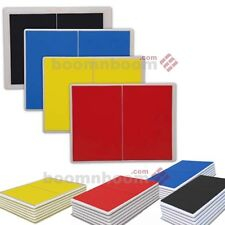 NEW Taekwondo Karate Martial Artrs Rebreakable Boards Yellow Blue Red Black Set