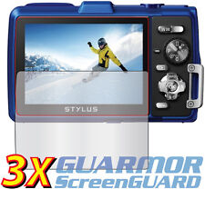 3x Clear LCD Screen Protector Guard Cover Film Olympus Tough TG-830 830iHS iHS