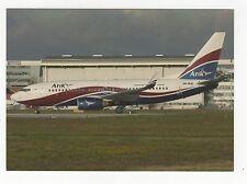 Arik Air Boeing 737 at Toulouse Airport Aviation Postcard, A634