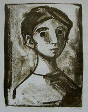 Fernando Rivero Cabeza 1964 Puerto Rico Espana Print Lithograph Spain GVARRO
