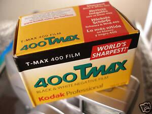 KODAK  T-MAX  400 135/36  1 Film  SONDERPREIS!! MHD 08/2022